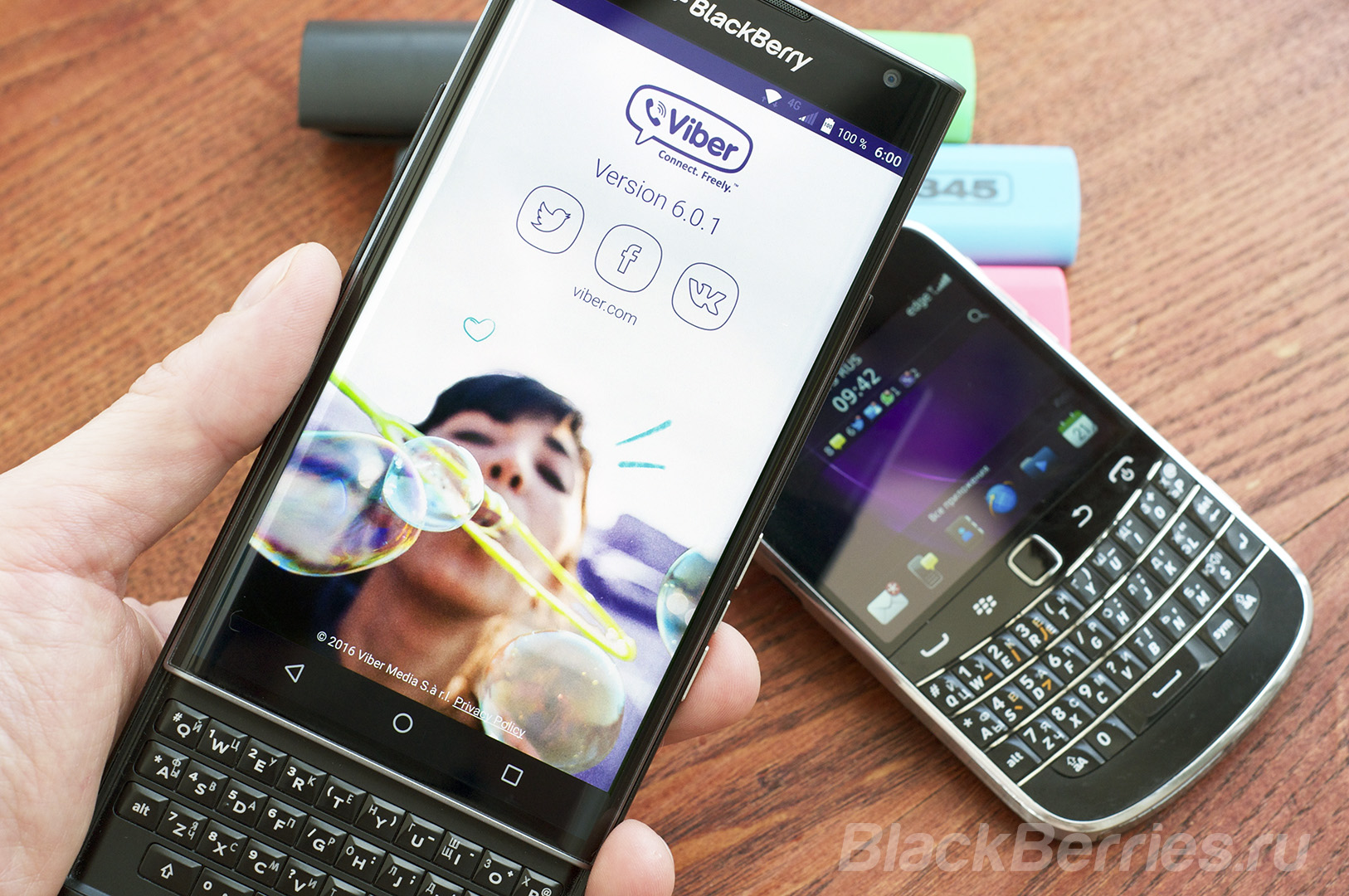 BlackBerry-Priv-Viber