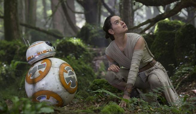 Главные действующие лица Звездных Войн не совсем похожи на тех, кто интересуется селфи...