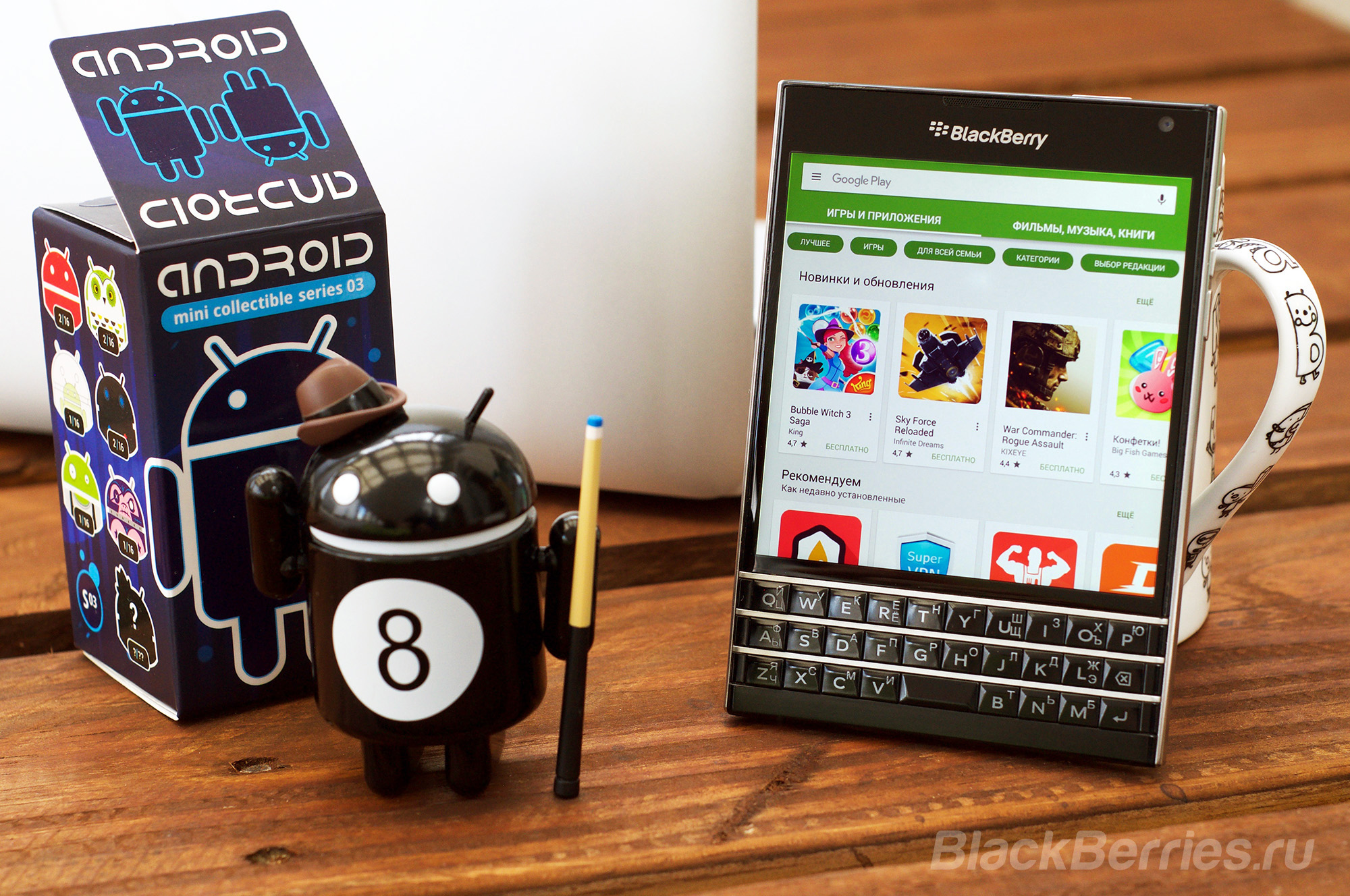 Android для BlackBerry | BlackBerry в России