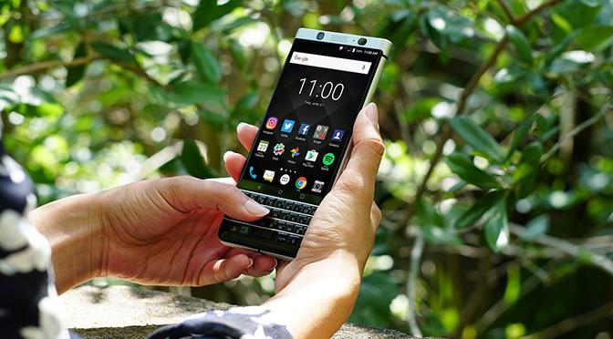 Стартовали продажи BlackBerry KEYone в Великобритании