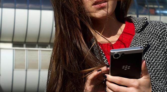 Первые отзывы в прессе о BlackBerry KEYone