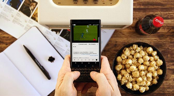 Первое знакомство с BlackBerry KEYone