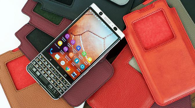 Новая коллекция чехлов для BlackBerry KEYone