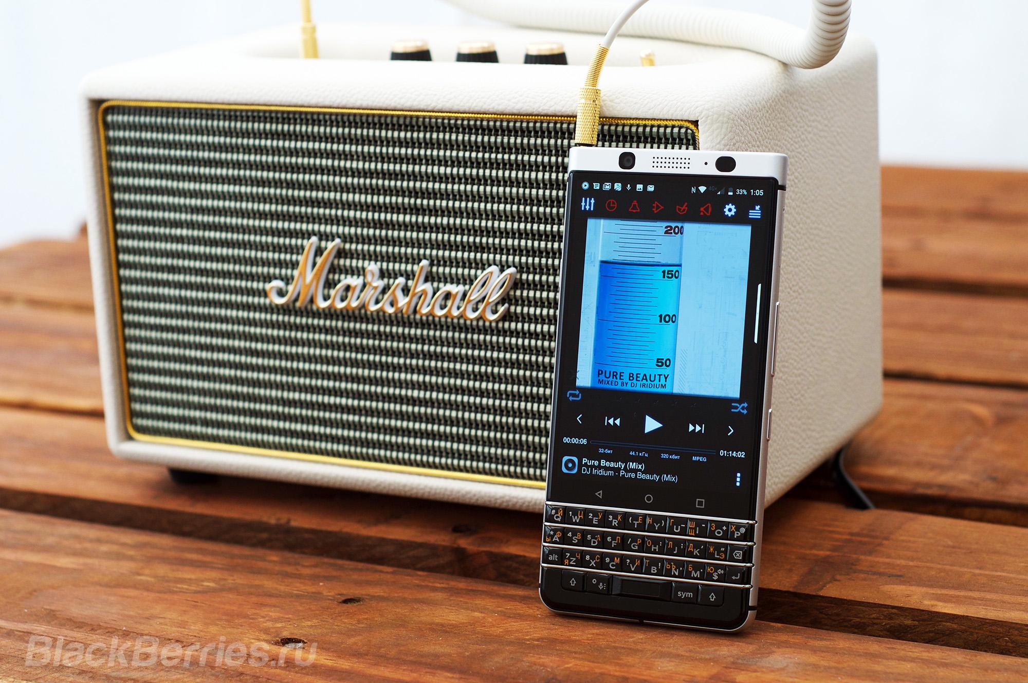 Лучшие музыкальные плееры для BlackBerry KEYone и PRIV   BlackBerry Priv