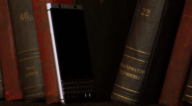 Обзор BlackBerry KEYone c русской клавиатурой