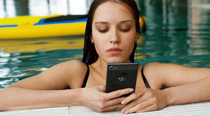 BlackBerry Motion — первый телефон BlackBerry с защитой от воды по классу IP67