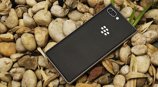 Презентация и первые впечатления от нового смартфона BlackBerry KEY2