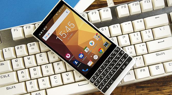 Новое видео: Обзор BlackBerry KEY2