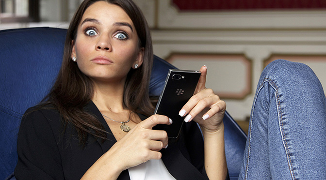 Снижена цена на все модели BlackBerry KEY2