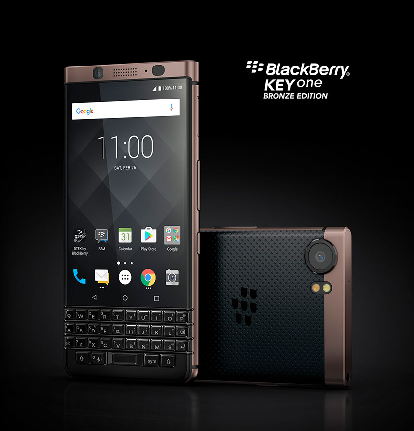 Купить BlackBerry KEYone Bronze Edition