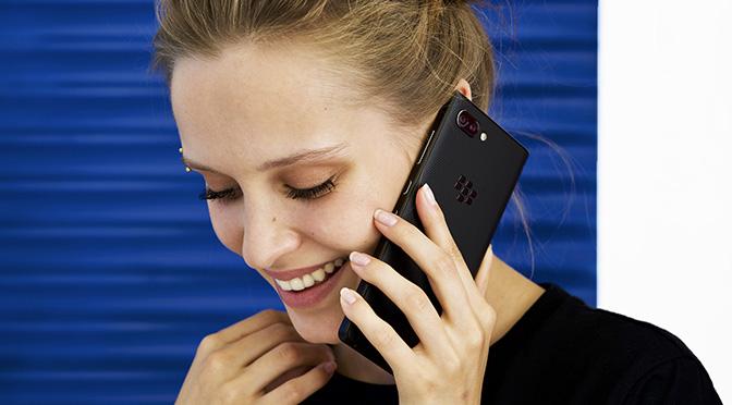 BlackBerry KEY2 с поддержкой двух SIM карт и памятью 128GB — снова в продаже!