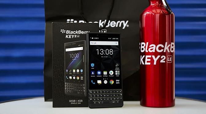 Обзор BlackBerry KEY2 LE уже на нашем сайте!
