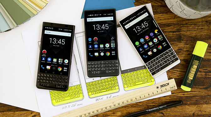 Что выбрать: BlackBerry KEYone, KEY2 или KEY2 LE?