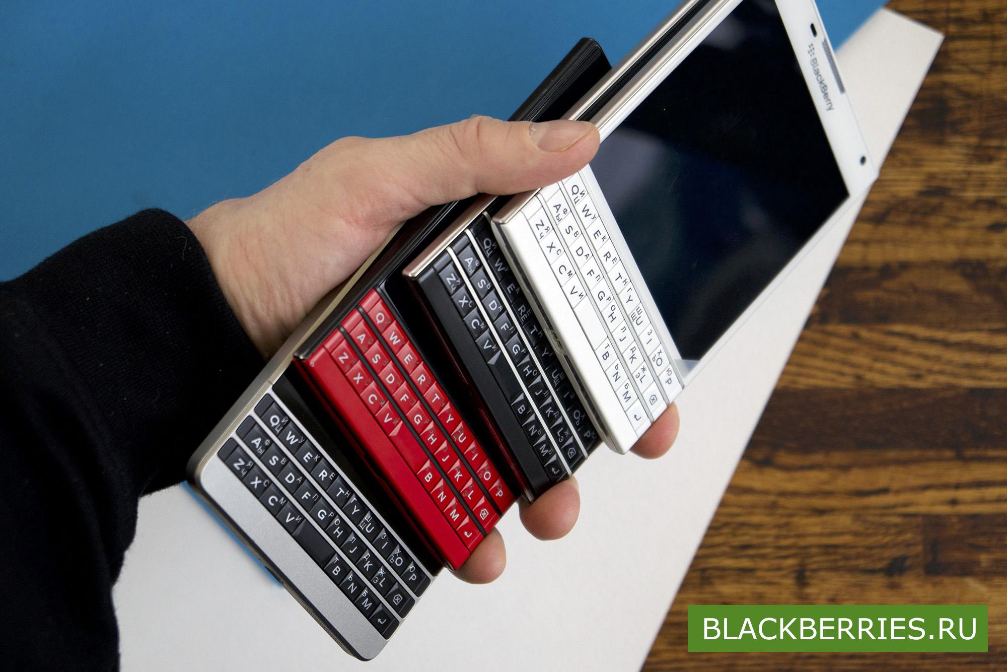 BlackBerry Passport в черном цвете снова в продаже в нашем