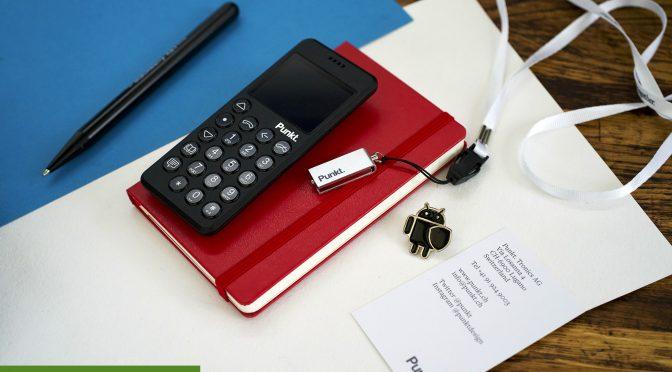 Обзор телефона Punkt MP 02