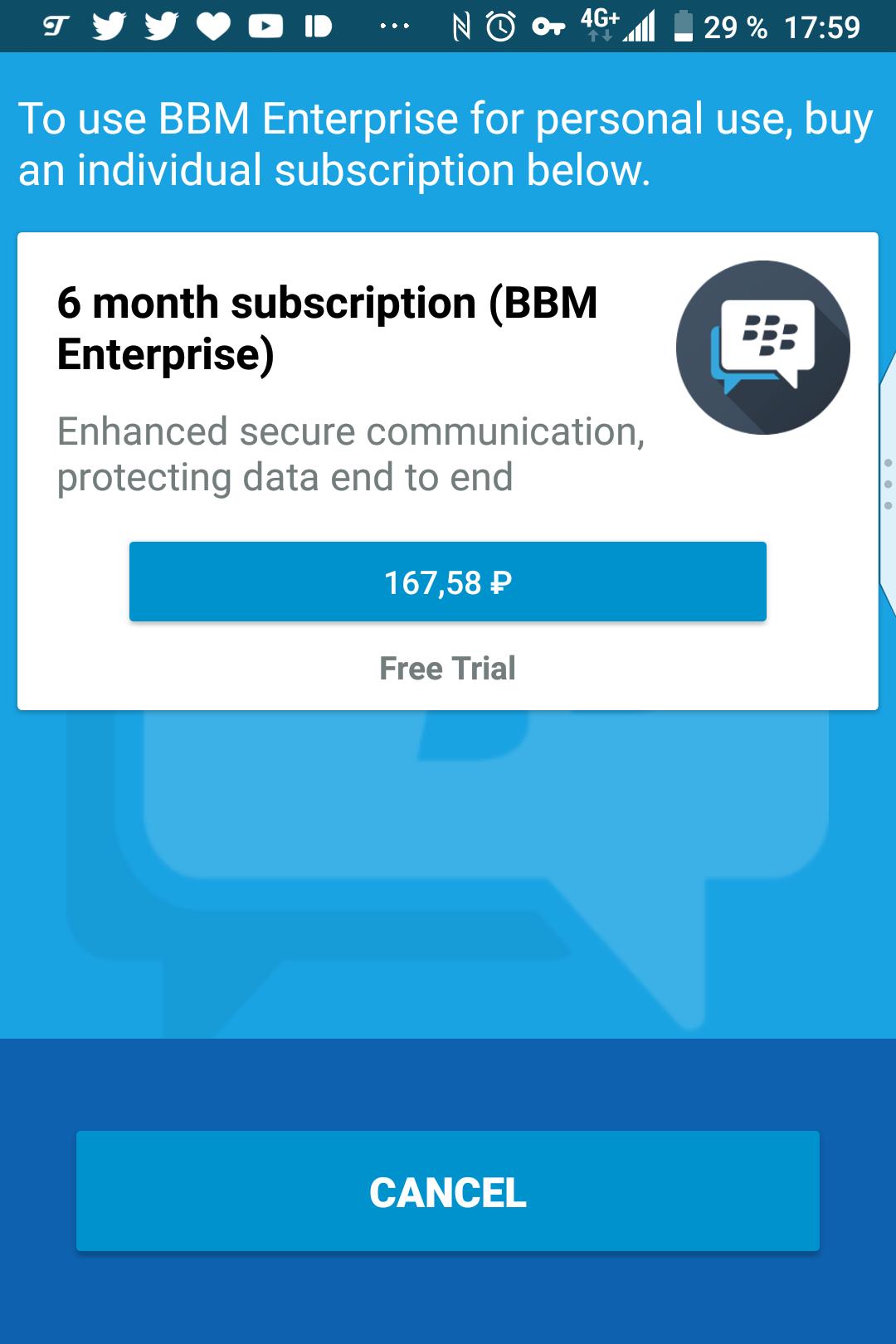 Emtek завершит поддержку пользовательской версии BBM 31 мая